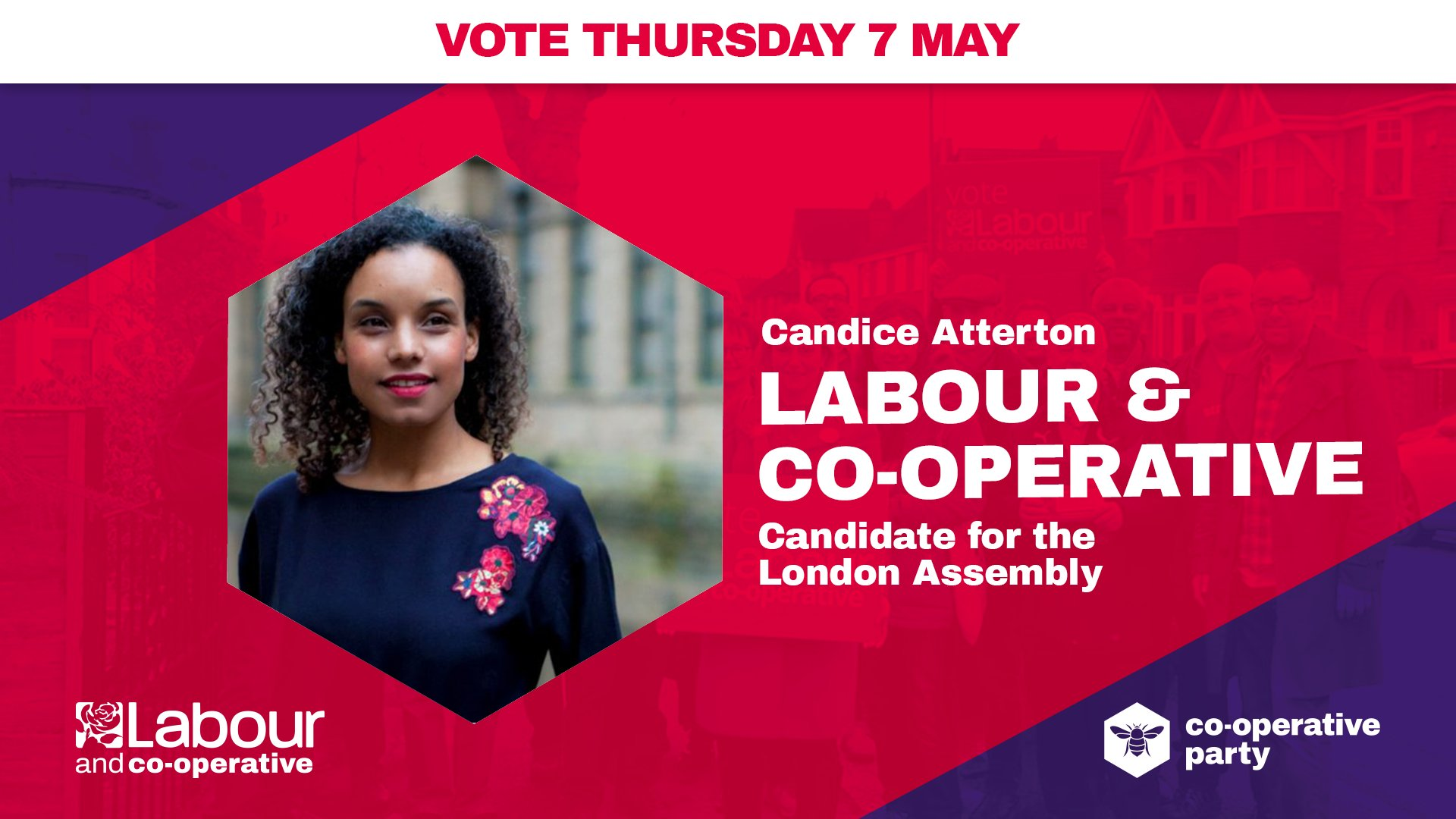 <p>Hi my name is Candice Atterton. I am the Labour London Assembly candidate for the South West. I am delighted to have been selected by Labour members from Feltham & Heston, Brentford & Isleworth, Twickenham, Kingston & Surbiton and Richmond Park constituency labour parties and endorsed by the Cooperative Party […]</p>
